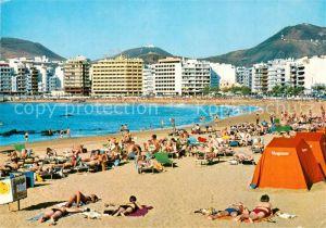 AK / Ansichtskarte Las_Palmas_de_Gran_Canaria Strand Las_Palmas
