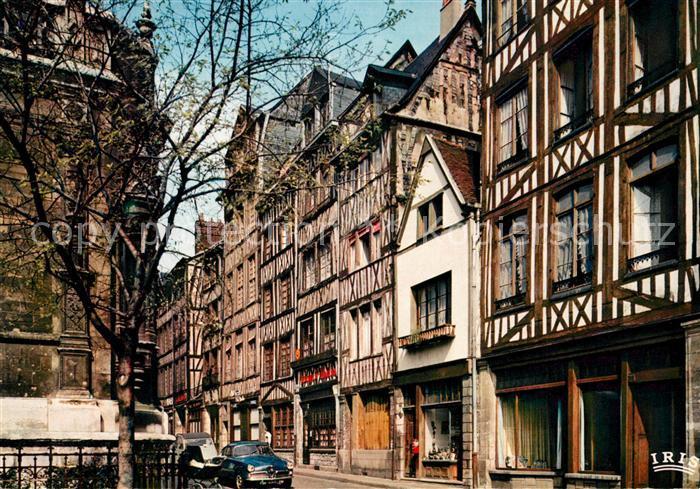AK / Ansichtskarte Rouen Vieilles maisons Eglise Saint Maclou  Rouen