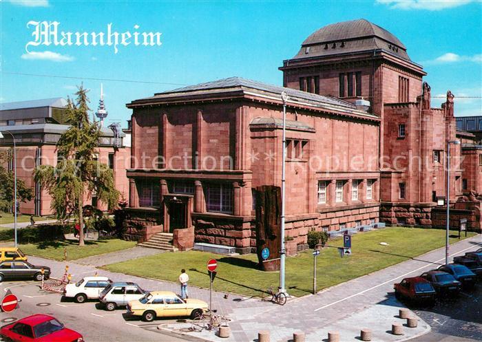 AK / Ansichtskarte Mannheim Kunsthalle 1907 Hermann Billing Mannheim