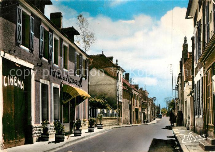 AK / Ansichtskarte Maligny_Yonne Route de Chablis Maligny Yonne