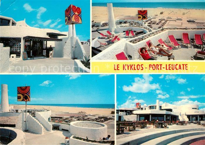 AK / Ansichtskarte Port_Leucate Souvenir du Kyklos Port_Leucate