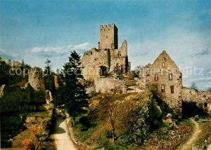 AK / Ansichtskarte Loerrach Burgruine Roetteln Loerrach