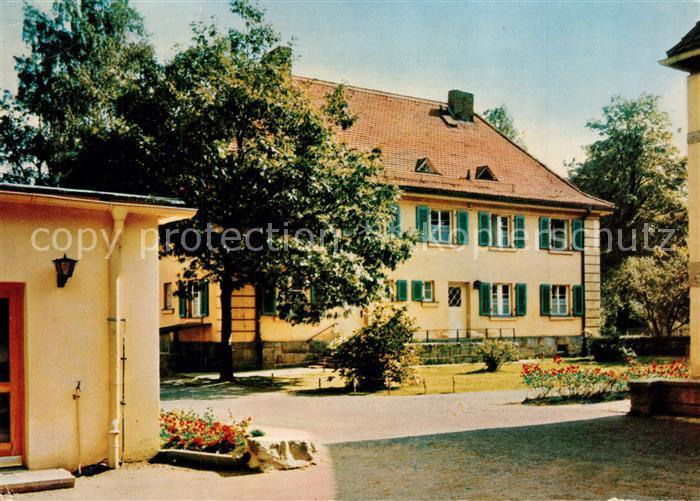 AK / Ansichtskarte Silberbach_Hof Ev Erholungsheim Silberbach Silberbach Hof