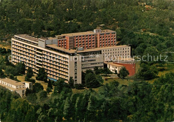 AK / Ansichtskarte Frankfurt_Main St Katharinen Krankenhaus Fliegeraufnahme Frankfurt Main