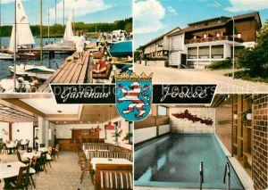 AK / Ansichtskarte Nieder Moos Gaestehaus Joeckel Nieder Moos