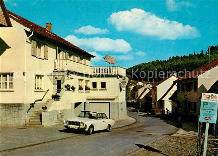 AK / Ansichtskarte Gras Ellenbach Gasthaus Zum Spessartkopf Gras Ellenbach