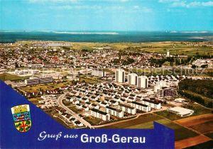 AK / Ansichtskarte Gross Gerau Fliegeraufnahme Gross Gerau