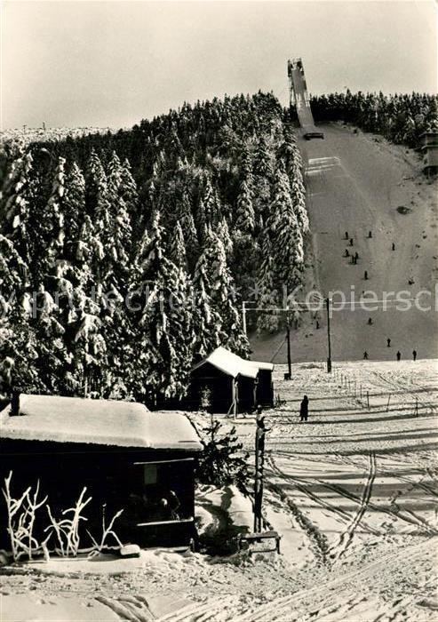 AK / Ansichtskarte Ski Flugschanze Krusne Hory Moldavy  Ski Flugschanze