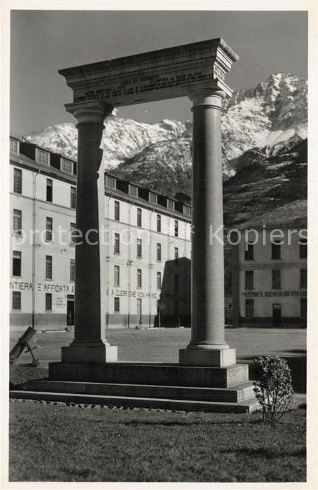 AK / Ansichtskarte Aosta Monumento Caduli del 4 Alpini Aosta