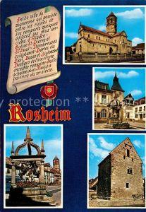 AK / Ansichtskarte Rosheim_Elsass_Lothringen Eglise Saint Pierre et Saint Paul Place de l Hotel de Ville  Rosheim_Elsass_Lothringen