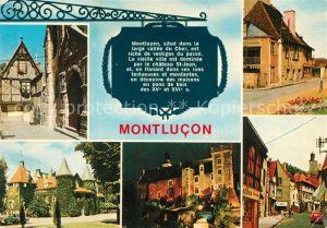 AK / Ansichtskarte Montlucon Vieille maison du XVe siecle Chateau Saint Jean Porte Saint Pierre Montlucon