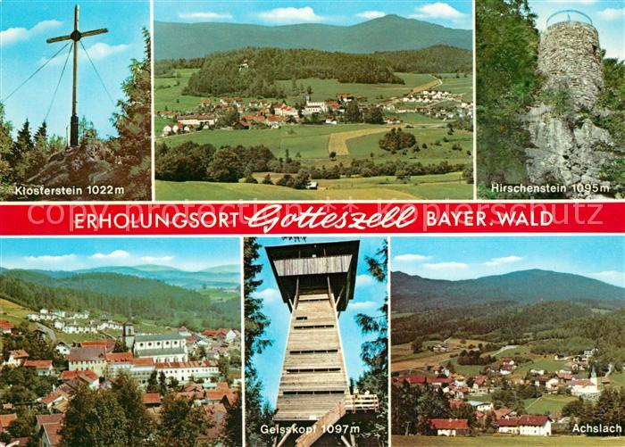 AK / Ansichtskarte Gotteszell Klosterstein Hirschenstein Geisskopf Achslach Gotteszell 0