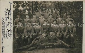AK / Ansichtskarte Potsdam Gruppenbild Soldaten Offiziere Militaer 3. Komp. 6. Korporalschaft Stube 16 Potsdam