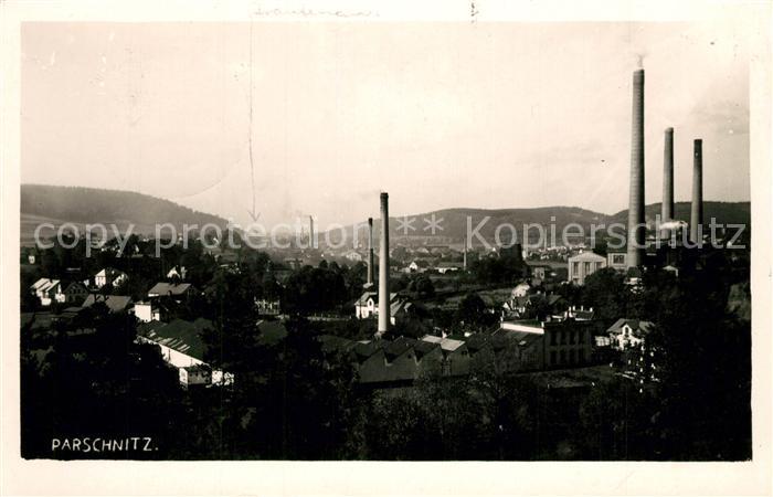 AK / Ansichtskarte Parschnitz_Trutnov Stadtpanorama Industrie