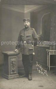 AK / Ansichtskarte Diedenhofen Offizier Soldat 1. Weltkrieg Feldzug 1914 Diedenhofen