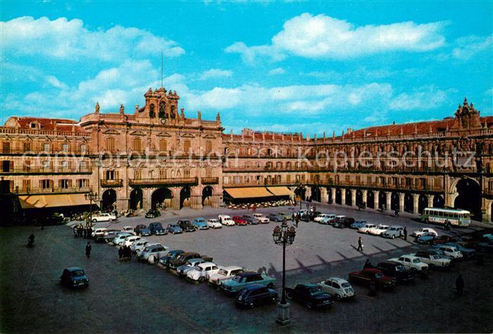 AK / Ansichtskarte Salamanca Plaza Mayor Salamanca
