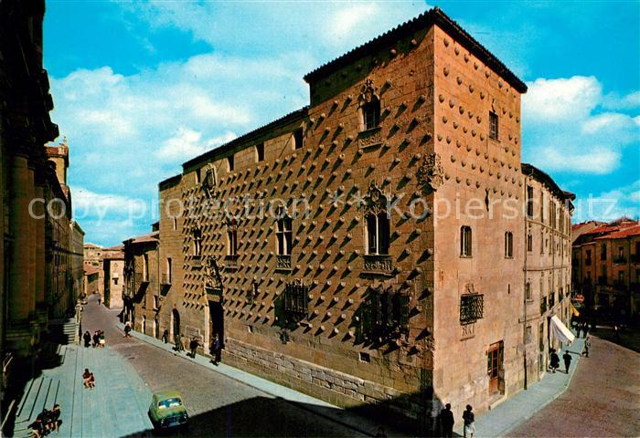 AK / Ansichtskarte Salamanca Casa de los Conchas Salamanca