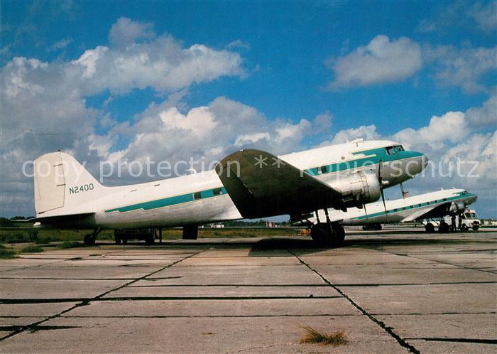 AK / Ansichtskarte Flugzeuge_Zivil N 2400 c n 26877 N 300 Palm Beach International Airport  Flugzeuge Zivil