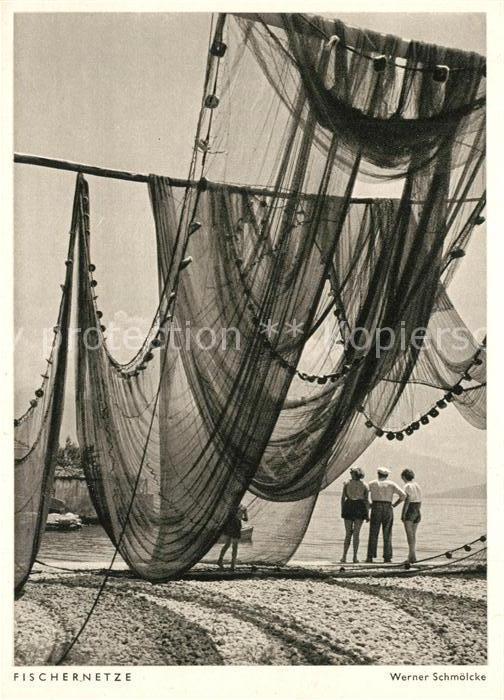 AK / Ansichtskarte Fischerei Fischernetze Fischerei