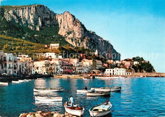 AK / Ansichtskarte Capri Marina Grande Capri
