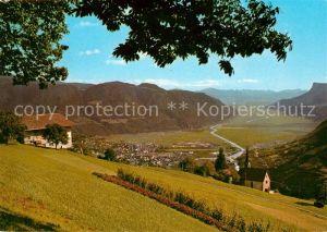 AK / Ansichtskarte Vellau Panorama Blick ins Etschtal Vellau