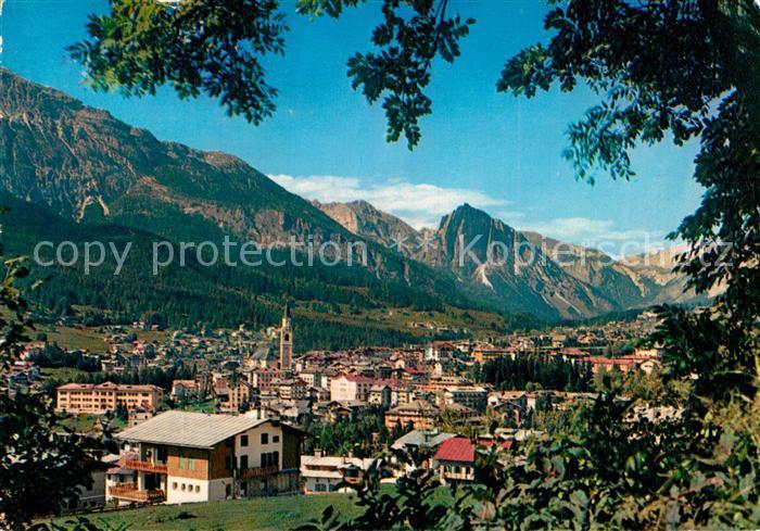 AK / Ansichtskarte Cortina_d_Ampezzo Panorama Col Rosa Dolomiten Cortina_d_Ampezzo