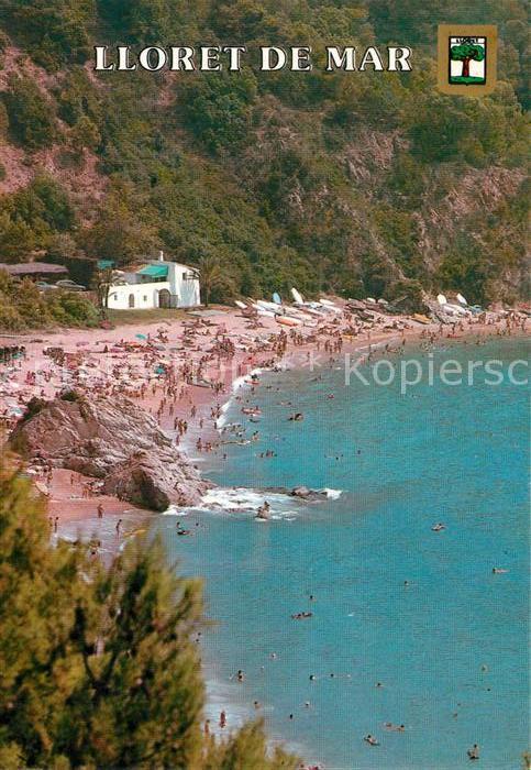 AK / Ansichtskarte Lloret_de_Mar Cala Canyelles Bucht Strand Lloret_de_Mar