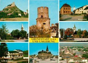 AK / Ansichtskarte Laa_Thaya Grenzstadt und Umgebung Laa_Thaya