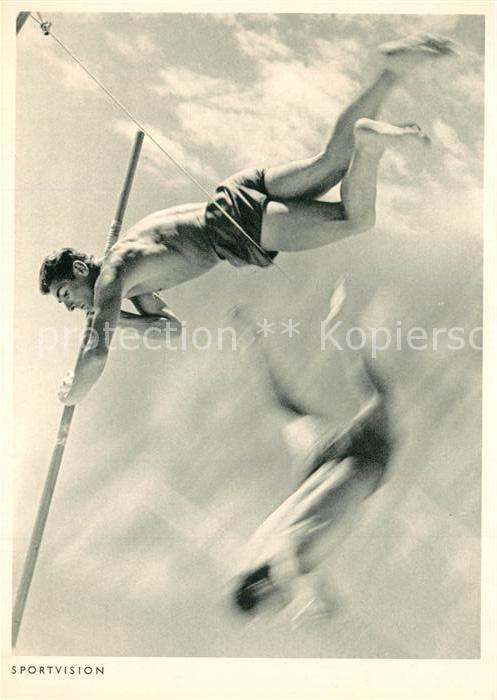 AK / Ansichtskarte Leichtathletik Stabhochsprung Leichtathletik