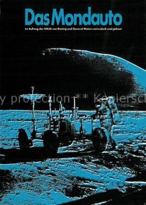 AK / Ansichtskarte Raumfahrt Mondauto NASA  Raumfahrt