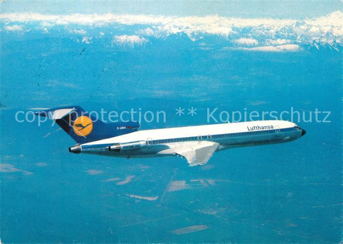 AK / Ansichtskarte Lufthansa Europa Jet B727 Lufthansa