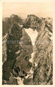 AK / Ansichtskarte Hochkalter Blaueisgletscher Hochkalter