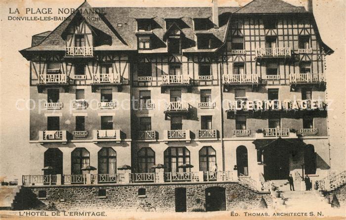 AK / Ansichtskarte Donville les Bains L Hotel de l Ermitage Donville les Bains