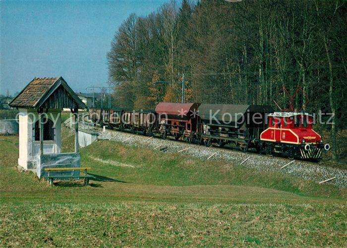 AK / Ansichtskarte Eisenbahn SETG SVB Lokalbahn Salzburger Stadtwerke E 11 Eisenbahn