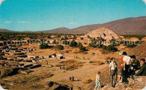 AK / Ansichtskarte Teotihuacan Zona Arqueologica de San Juan Piramide Luna Teotihuacan