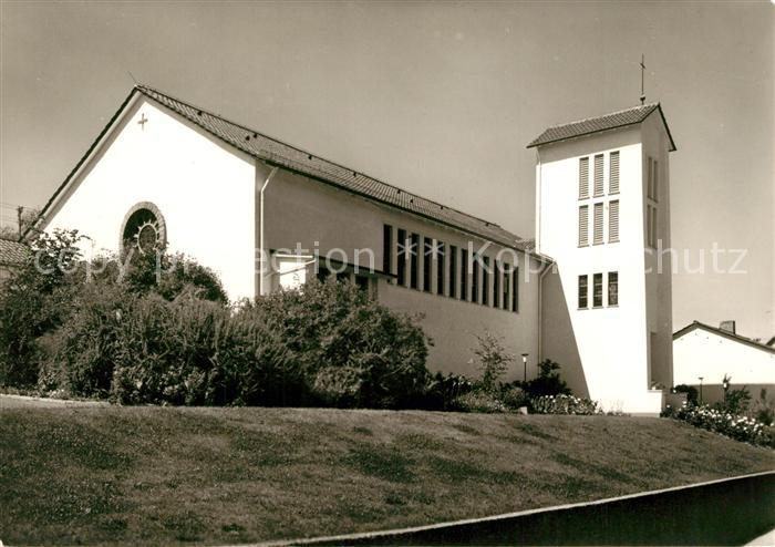 AK / Ansichtskarte Ober Ramstadt Kath Kirche Ober Ramstadt