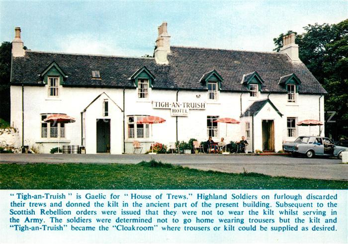 Schottland Tigh an Truish Hotel Schottland Nr. kp24808 - oldthing ...