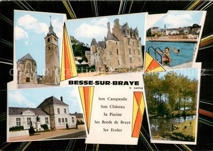 Besse sur Braye Son Campanile Chateau Piscine Ses Bords de Braye Ses Ecoles Besse sur Braye