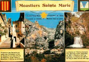 Moustiers Sainte Marie Prisonnier des Sarrasins au temps des Croisades le Duc La Chaine et l'Etoile plusieurs Moustiers Sainte Marie