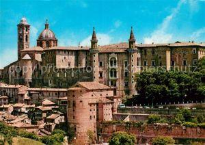 Urbino Palazzo Ducale e panorama Urbino