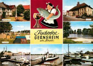 Gernsheim Rosengarten Camping Hafen Rheinfaehre Stadthaus Naturbad Kiesloch Rheinhafen Gernsheim