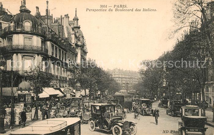 Paris Boulevard des Italiens Paris