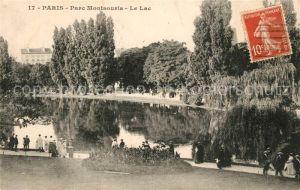 Paris Parc Montsouris Le Lac Paris