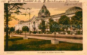 Duesseldorf Kunstpalast Kaiser Wilhelm Park Duesseldorf