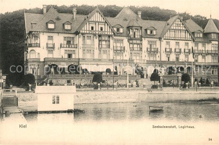 Kiel Seebadeanstalt Logirhaus Kiel