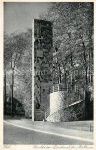 Kiel Seesoldaten Denkmal bei Bellevue Kiel