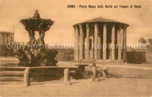 Roma_Rom Piazza Bocca della Verta col Tempio di Vesta Roma_Rom