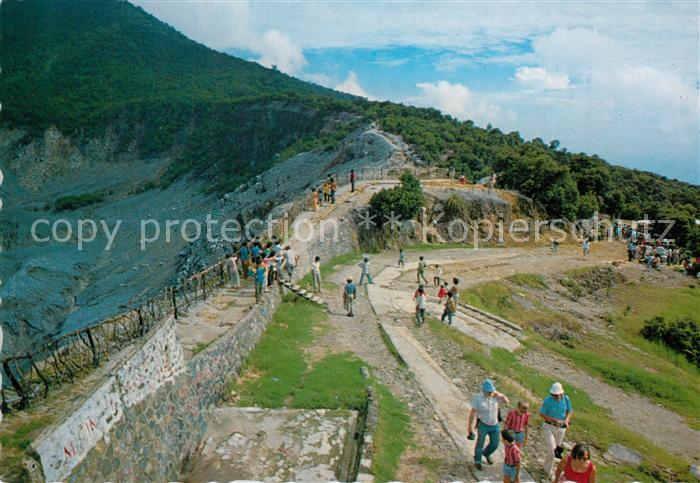 AK / Ansichtskarte Java_Indonesien Mountain resort Tangkuban Perahu West Java Java Indonesien