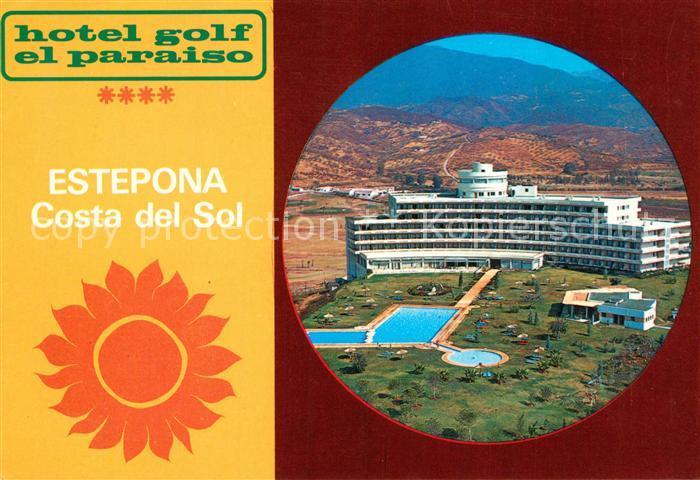 AK / Ansichtskarte Estepona Hotel Golf el Paraiso Estepona