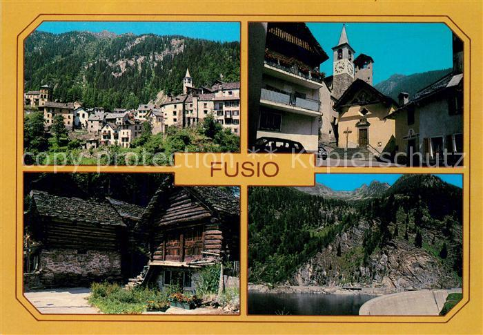 AK / Ansichtskarte Fusio Valle Maggia Fusio
